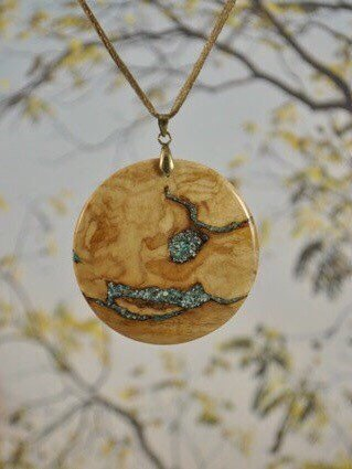 Joe Krutulis Nature's Jewelry Indiana Artisan Handcrafted Wood Jewelry