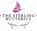 The Sterling Butterfly Mobile Logo